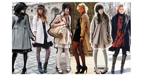 Como usar vestido com casaco