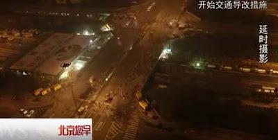 Ανακατασκευή γέφυρας στην Κίνα σε εξωπραγματικό χρόνο