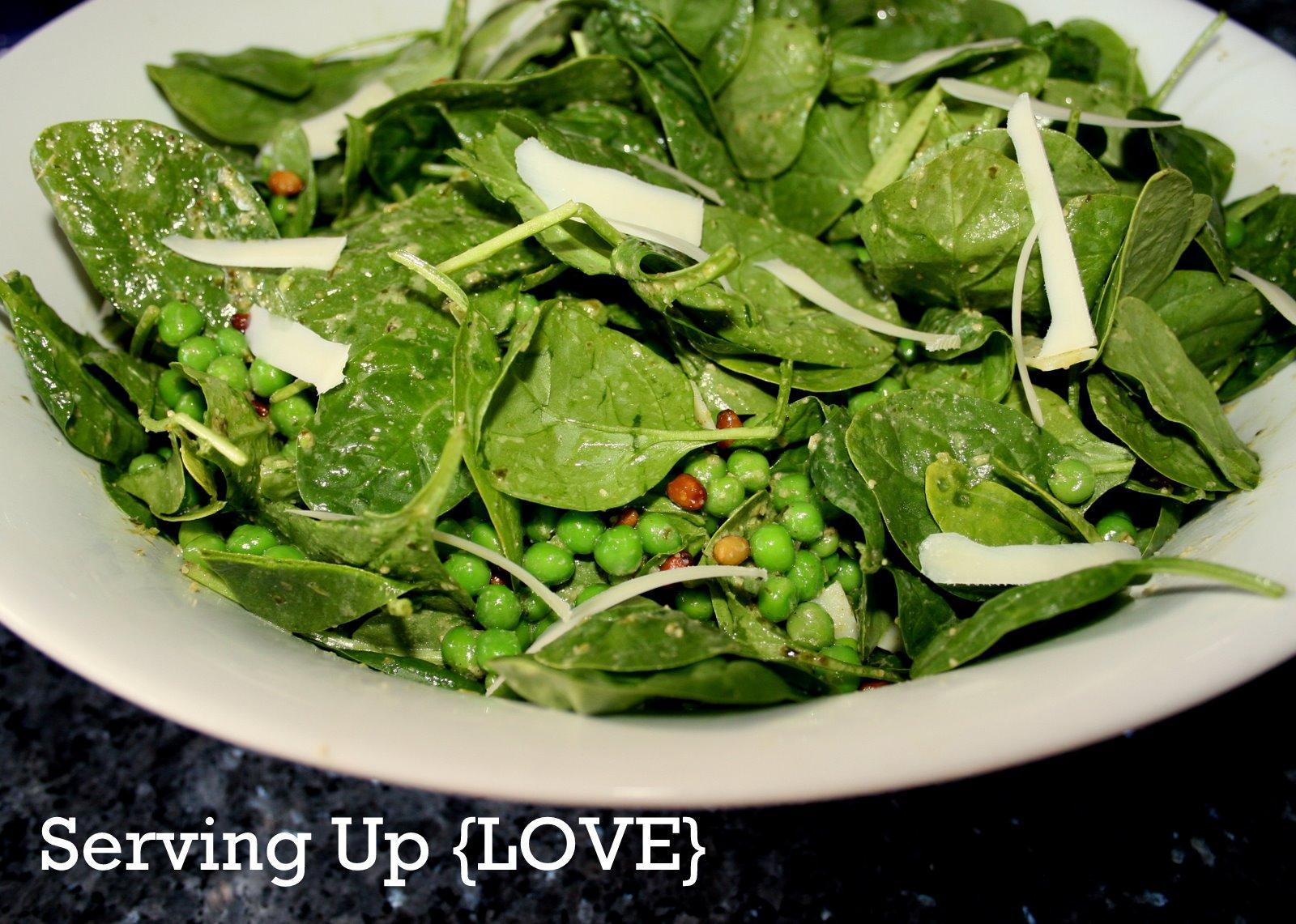 Katherine 39 S Kitchen Serving Up Salad Pesto Pea Salad