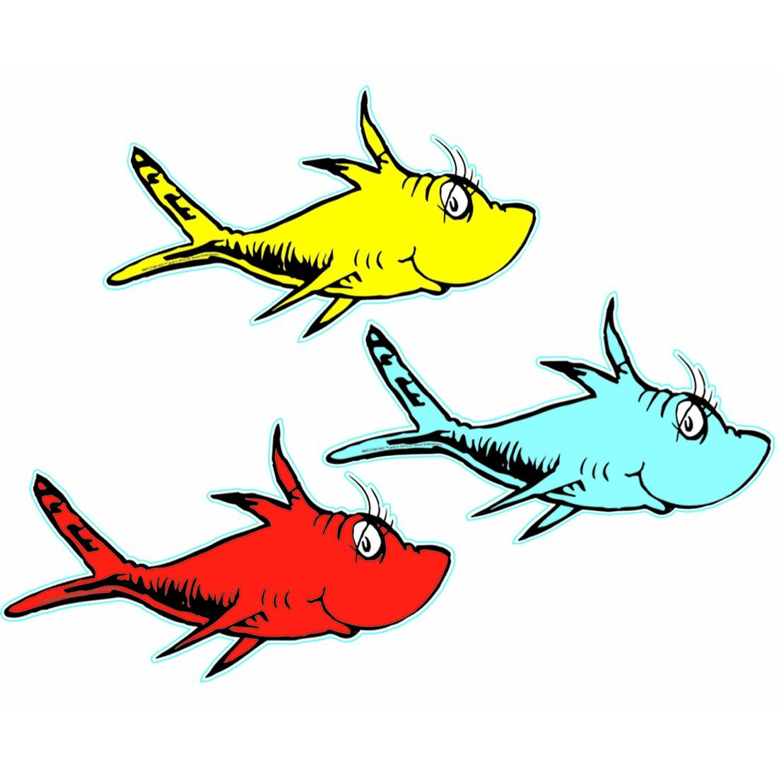 Displaying 20gt Images For Blue Fish Dr Seuss Costume