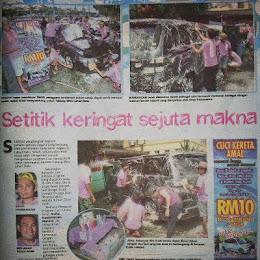 UTUSAN MALAYSIA WITH VISIONAIRE TEAM