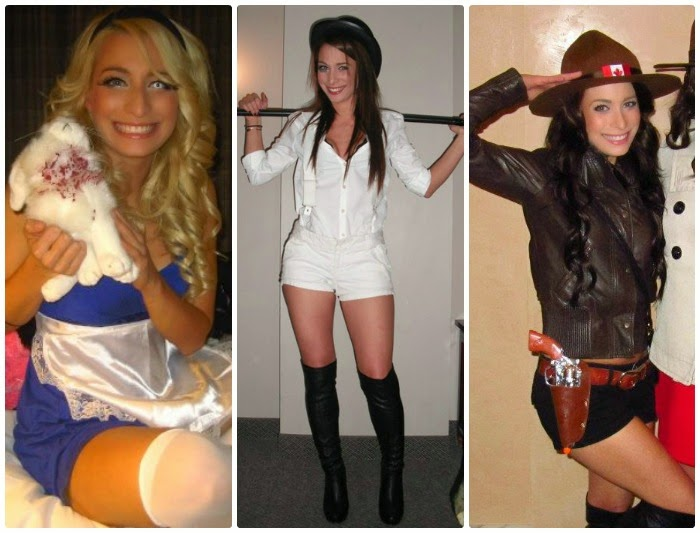 The Solo Costumes  sc 1 st  La Petite Noob & DIY Halloween Costume Ideas for Ladies - Solo and Group | La Petite ...
