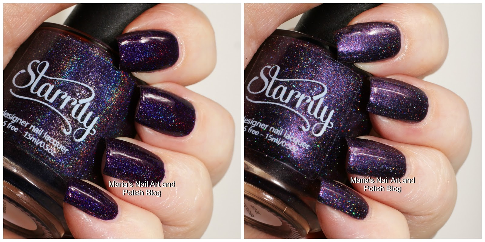 Today I Have Two Of The Bluetoned Purple Polishes From The Starrily  Vampire Inspired Welcome To Transylvania Collection: Hotel Transylvania And  Vladimir