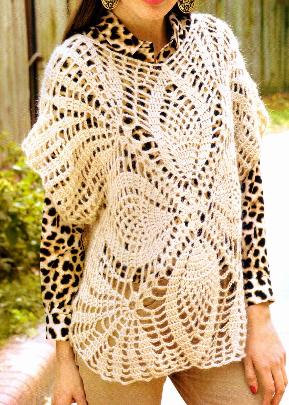 tejidos artesanales en crochet increible chaleco cuadrado tejido en crochet. Black Bedroom Furniture Sets. Home Design Ideas