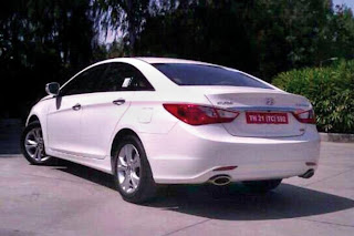 new hyundai sonata rear view