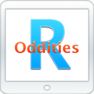 R Oddities:  Strings in DataFrames