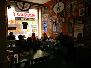 Martha's Cafe in El Paso