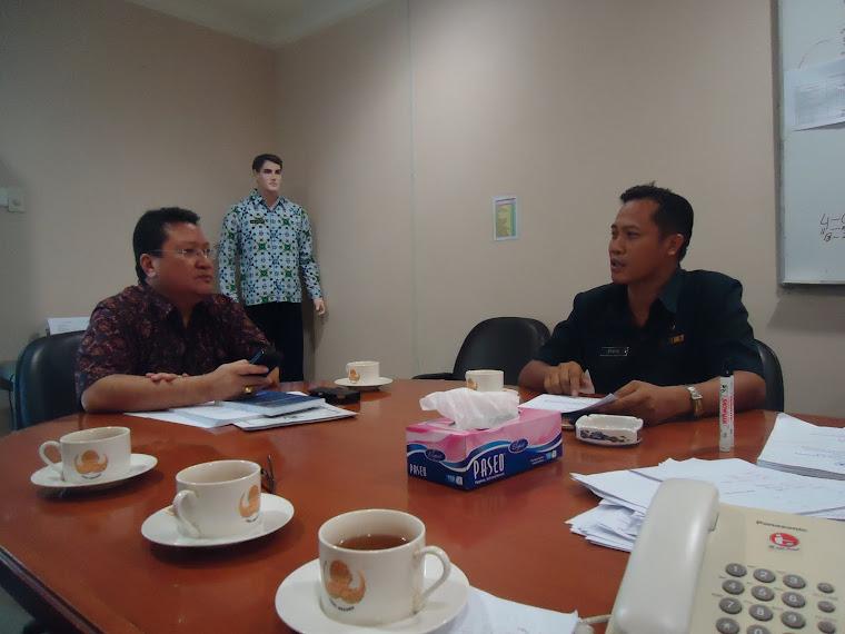 Berkunjung ke kantor Dewan Pengurus Nasional (DPN) KORPRI