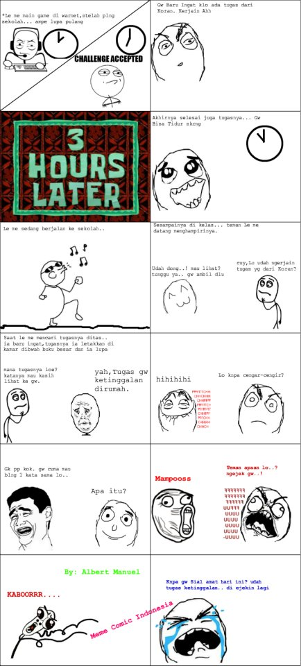 Meme Comic Indonesia By : Albert Manuel S  ~Sekedar Info dan