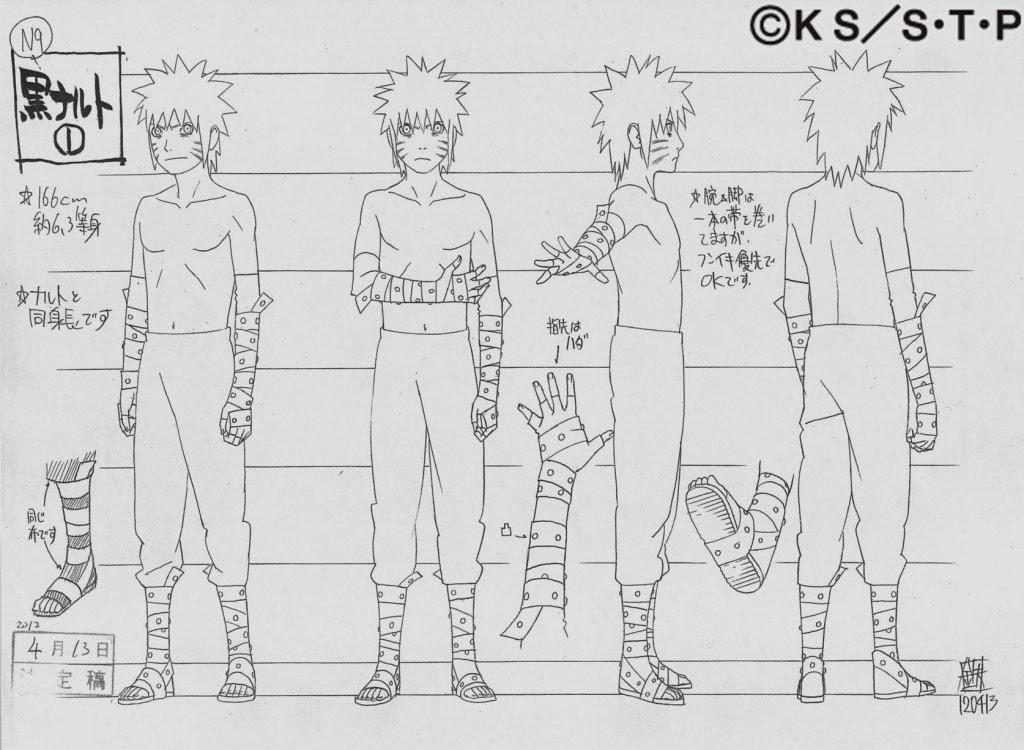 Naruto Character Design Sheet : Naruto news conex�o studio pierrot imagens de sasuke