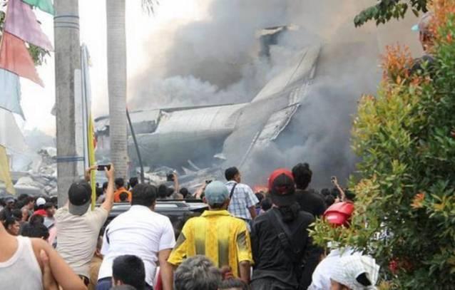 Pesawat Hercules Tentera Udara Indonesia terhempas, 20 disahkan maut