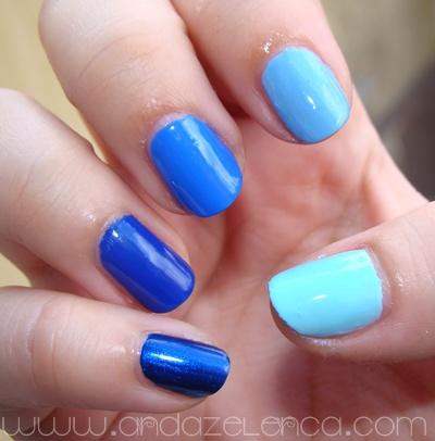 blue ombre nails anda zelenca