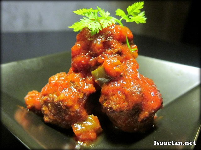 Meatball in Tomato Sauce (4pcs) - RM12