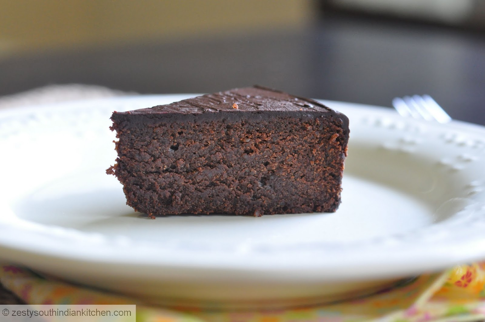... Chocolate Almond Cake For Baking Partners - Zesty South Indian Kitchen