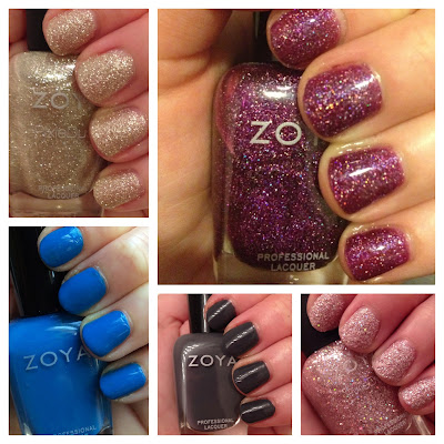 Zoya, Zoya nail polish, Zoya Mini Color Lock System, beauty giveaway, A Month of Beautiful Giveaways, nails, nail polish, nail lacquer, nail varnish, manicure, Zoya Tomoko, Zoya Ling, Zoya Aurora, Zoya Kelly, Zoya Lux