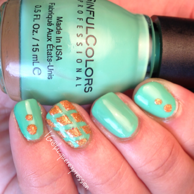 mint tropics nail polish by sinful colors professional