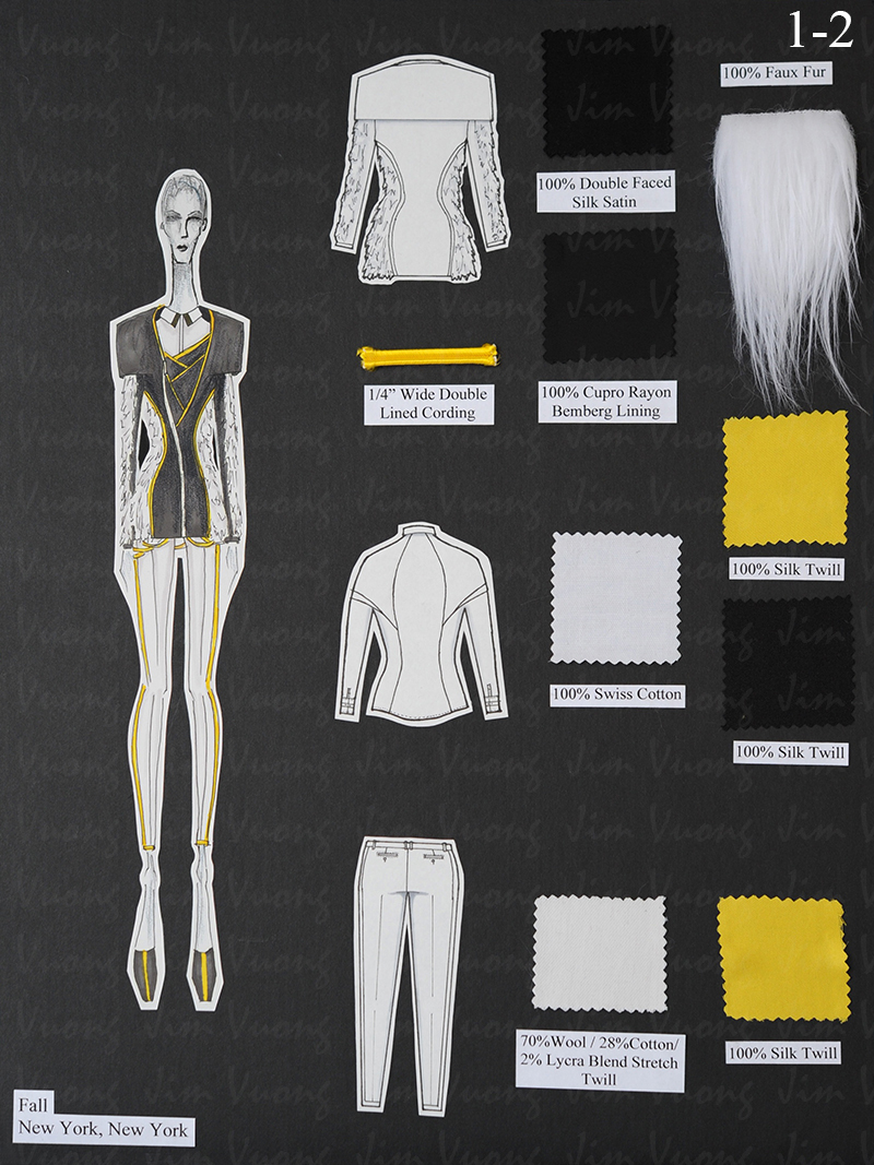 Fashion Institute Of Technology Portfolio Design Test