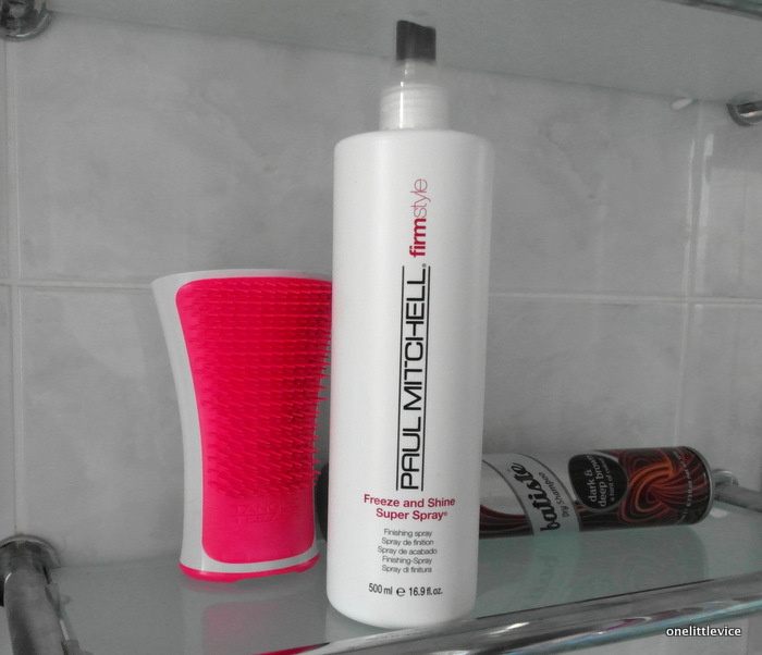 OneLittleVice Beauty Blog: paul mitchell hairspray review