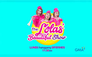 The Lolas Beautiful Show September 25 2017 SHOW DESCRIPTION: Jose Manalo (as Lola Tinidora), Paolo Ballesteros (as Lola Tidora) and Wally Bayola (as Lola Nidora) will host 'The Lolas' Beautiful […]
