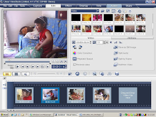 SCREEN SHOT 1 OF ULEAD VIDEO STUDIO 11 FULL WITH CRACK