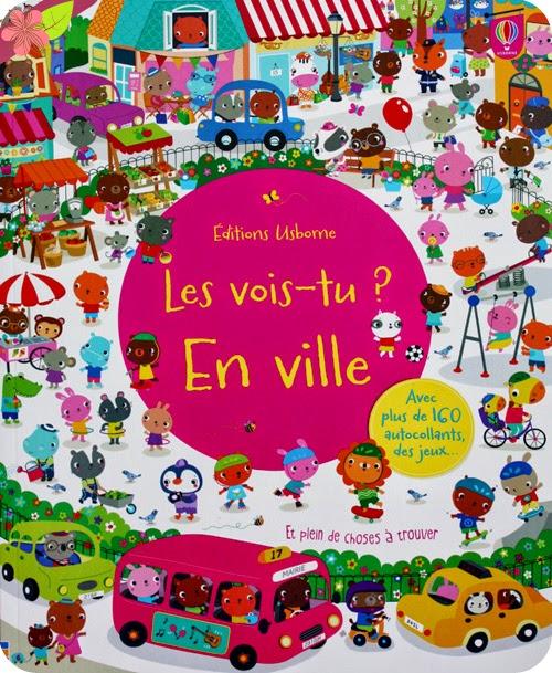 """""""Les vois-tu ? En ville"""" - éditions Usborne"""