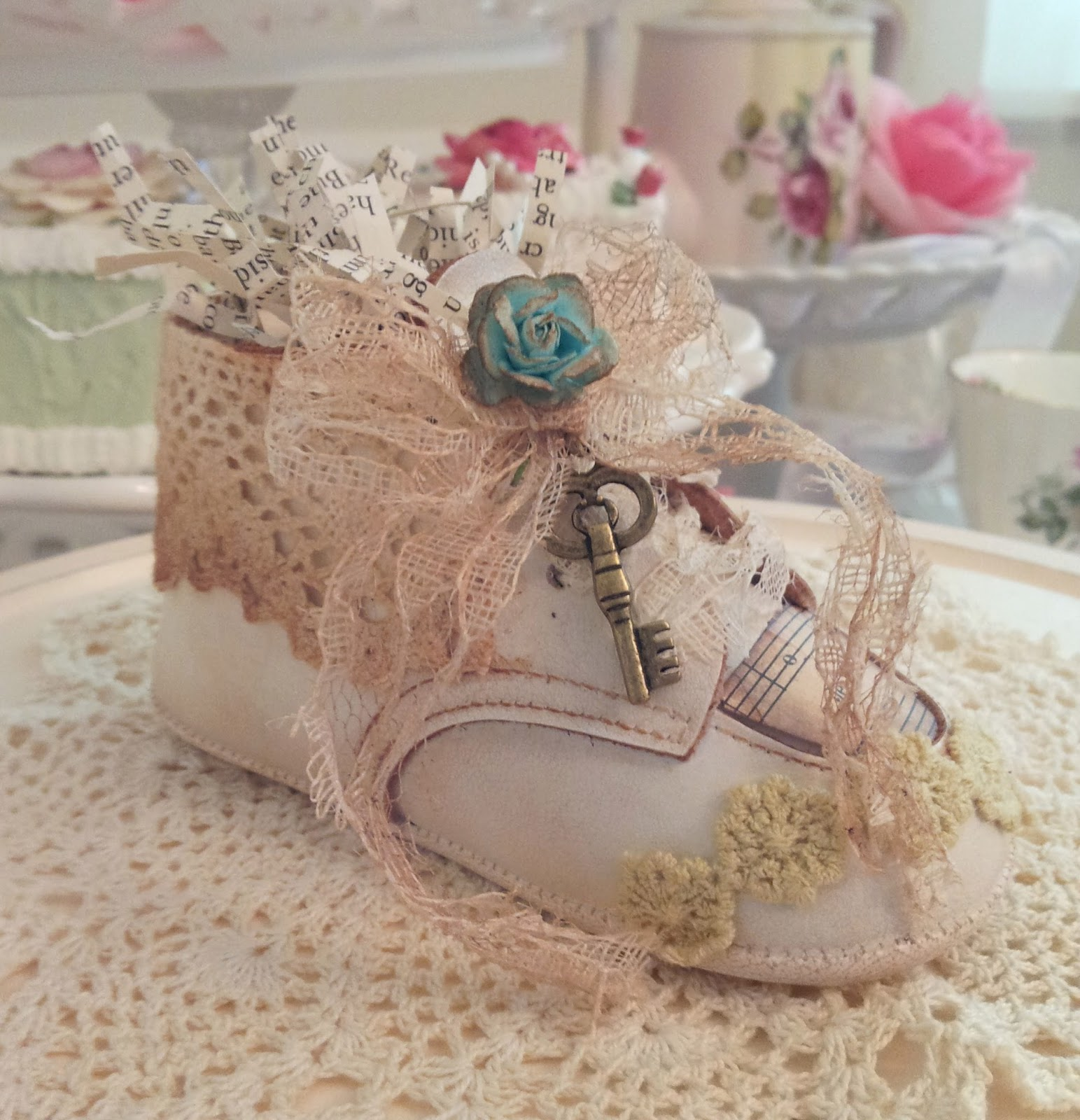 Southard house b b vintage baby shoes for Babies decoration