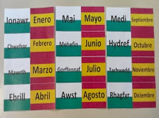 Grammazzle Flashcards Español Galés Meses