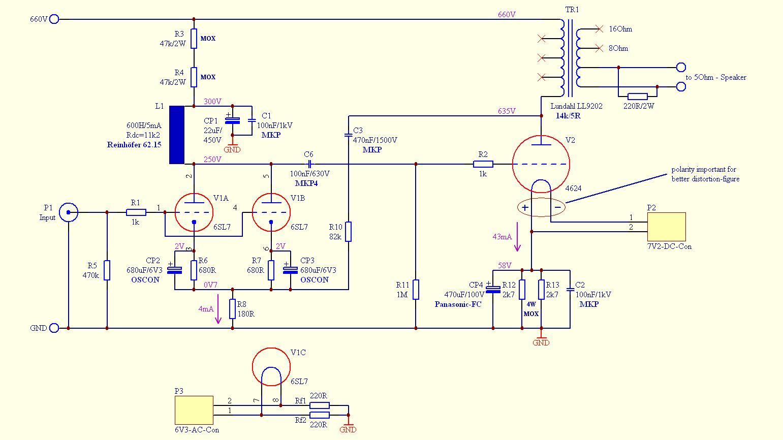 1 Watt Tube   Schematic besides 282090231059 additionally 5 Watt Tube   Schematic likewise Diy   Attenuator Schematics additionally Index php. on tube headphone amp schematic