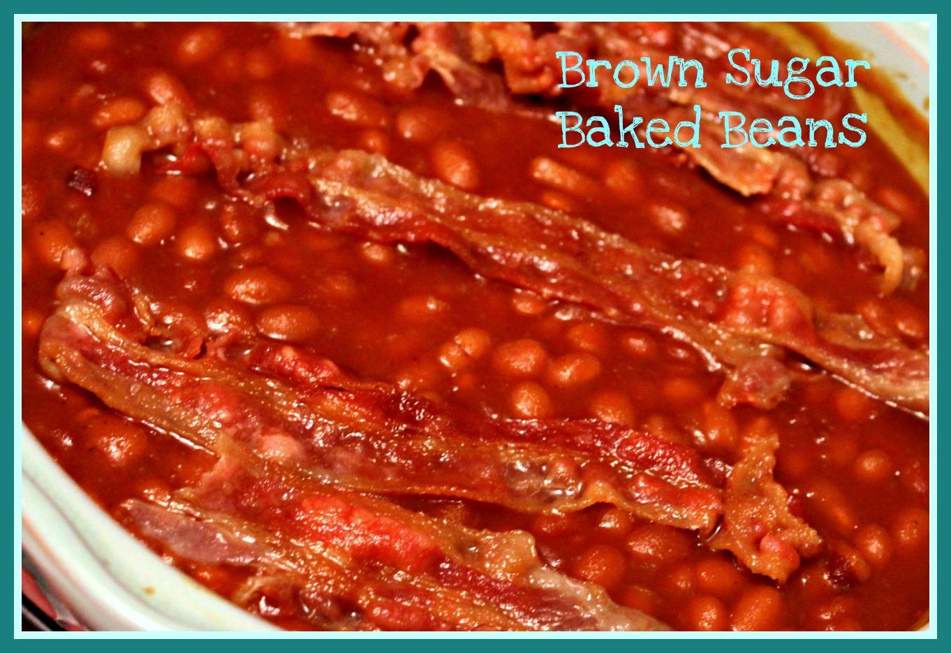 Brown Sugar Baked Beans!
