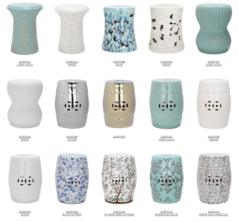 FOCAL POINT STYLING 15 INSPIRATIONS FOR DECORATING WITH GARDEN STOOLS