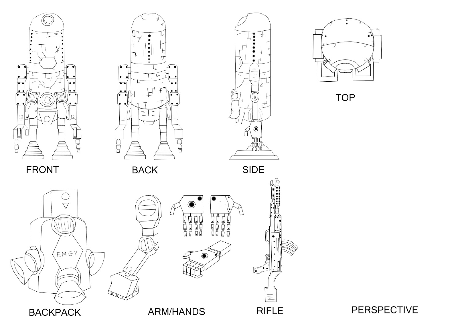 Liam roberts bagd yr2 ashley wood robot blueprints without final version malvernweather Gallery
