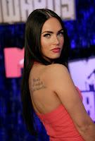 super sexy, hot, curvy, Megan Fox, High, Resolution, Wallpaper, back, solder, tattoo,