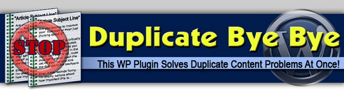 Duplicate Bye Bye WordPress Plugin