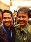Bersama Menteri Pemuda dan Olahraga Roy Suryo