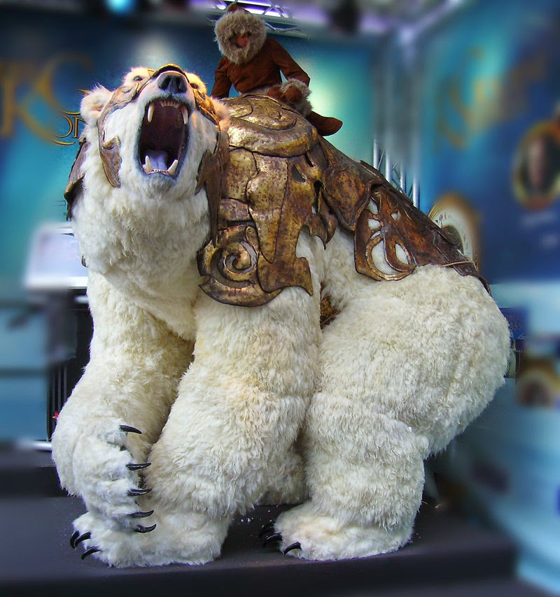 Armored Ice Bear Concept The Golden Compass