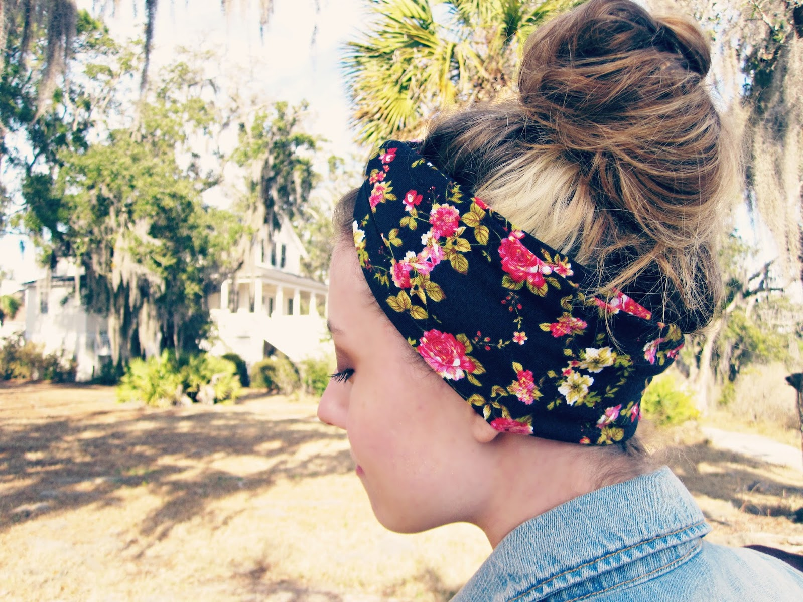 Black With Red Floral Turban, DoDa Wraps, Giveaway