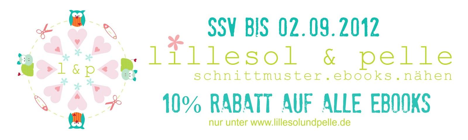 SSV: 10% Rabatt auf alle Ebooks | lillesol & pelle Schnittmuster ...