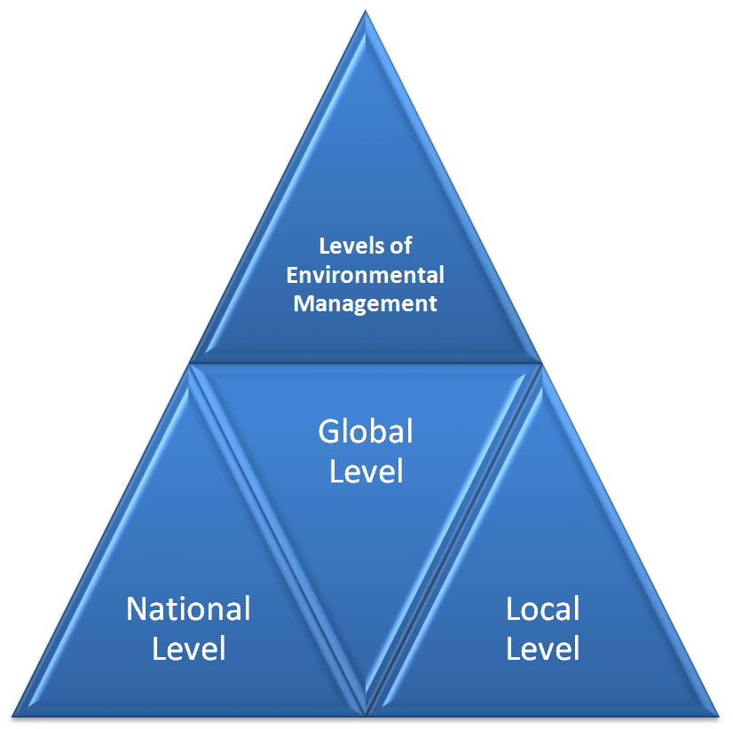 Levels of environmental management