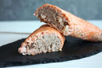 salmone farcito con gamberi e cotto al forno