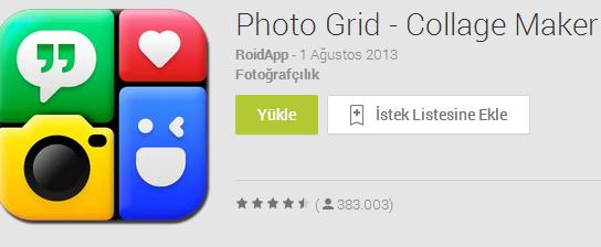 Instagram Fotograf Birleştirme Yöntemi