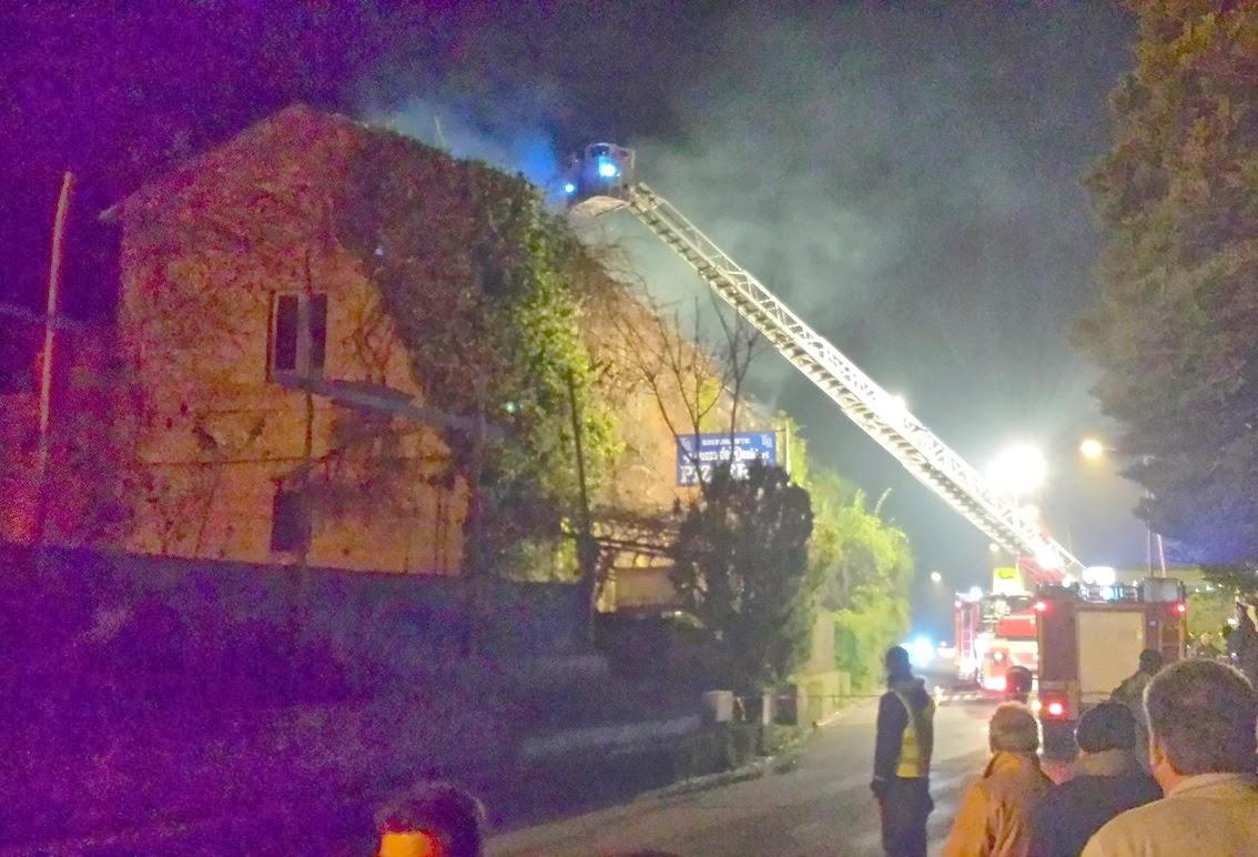 Limatola va a fuoco un abitazione paura per un residente for Quanto sarebbe stato costruire una casa