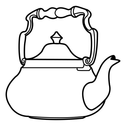 Dibujos para colorear utensilios de cocina - Dibujos de cocina para colorear ...