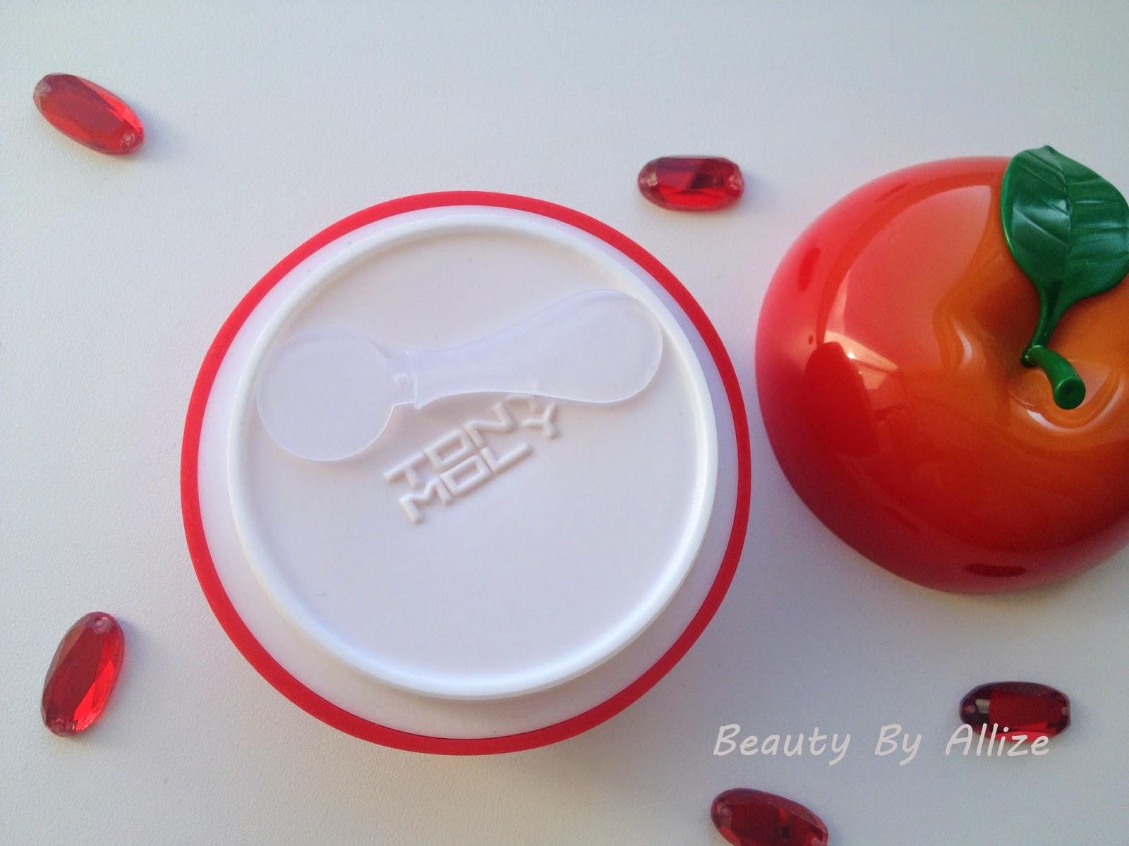 Tony Moly Red Appletox Honey Cream, питательный крем для лица