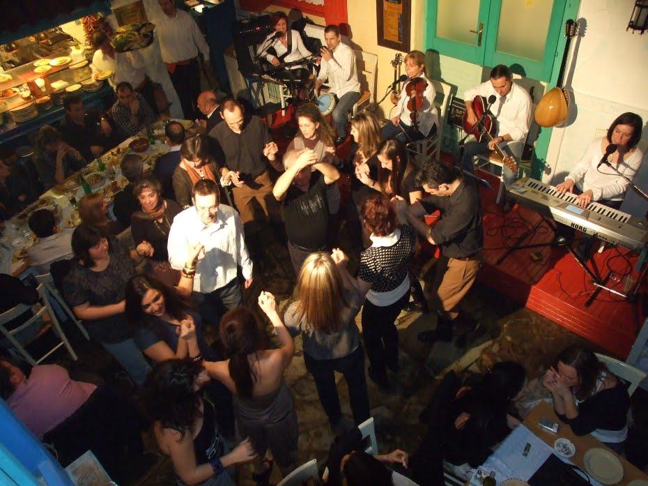 Zenés esték a Taverna Dionysosban