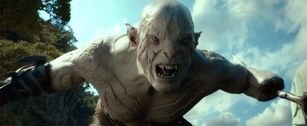 """Manu Bennet es Azog en """"El Hobbit: La Desolación de Smaug"""""""