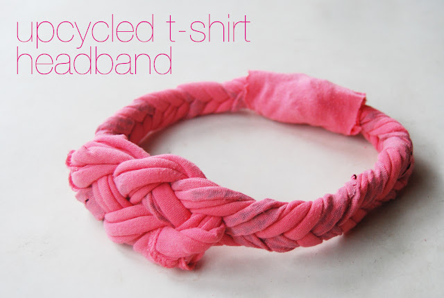 Повязка из футболки своими руками