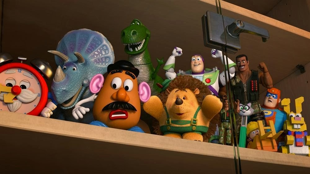 Toy Story of Terror! Tom Hanks Tim Allen animatedfilmreviews.filminspector.com
