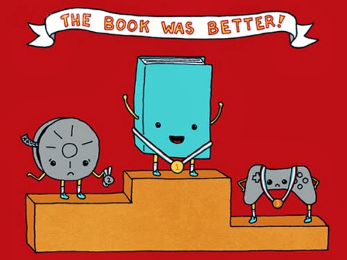 El libro le gana siempre a la película y al videogame!