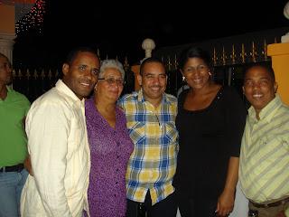 Regidor Noel Luna celebra su cumpleaños al junto de sus colegas y transportistas de San Cristobal
