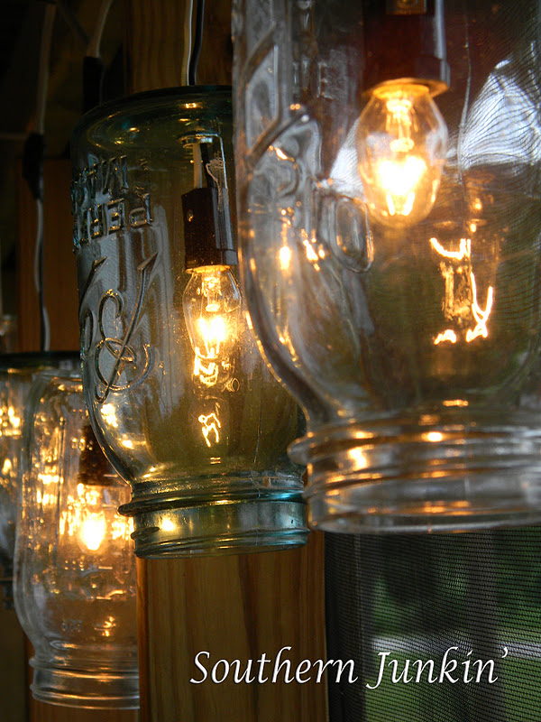 Adventures in Southern Junkin and Antiques: Jars of Lighting Bugs